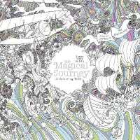 Books Kinokuniya Magical Journey A Colouring Book