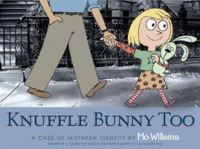 Link to an enlarged image of Knuffle Bunny Too : A Case of Mistaken Identity -- Paperback / softback