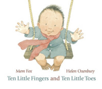 Link to an enlarged image of Ten Little Fingers and Ten Little Toes -- Board book