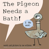 Link to an enlarged image of Pigeon Needs a Bath -- Paperback / softback