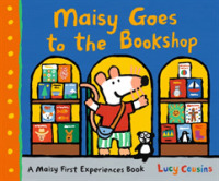 Link to an enlarged image of Maisy Goes to the Bookshop (Maisy) -- Hardback