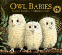 Link to an enlarged image of Owl Babies -- Board book
