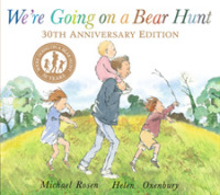 Link to an enlarged image of We're Going on a Bear Hunt -- Paperback / softback