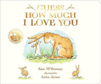 Link to an enlarged image of Guess How Much I Love You -- Board book