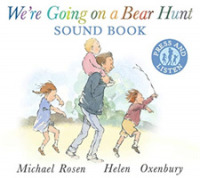 Link to an enlarged image of We're Going on a Bear Hunt -- Board book