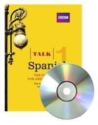 Link to an enlarged image of Talk Spanish 1 (Book/CD Pack): The ideal Spanish course for absolute beginners (Talk) (3RD)