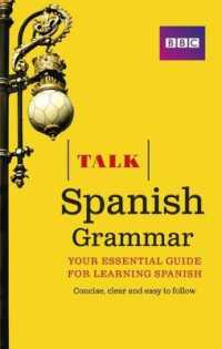 Link to an enlarged image of Talk Spanish Grammar (Talk) -- Paperback