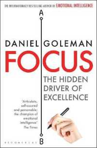 Link to an enlarged image of Focus : The Hidden Driver of Excellence -- Paperback / softback