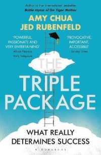 Link to an enlarged image of Triple Package : What Really Determines Success -- Paperback / softback