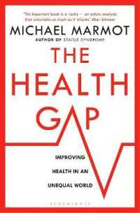 Link to an enlarged image of Health Gap : The Challenge of an Unequal World -- Paperback / softback