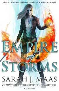 Link to an enlarged image of Empire of Storms ( Throne of Glass 5 ) -- Paperback