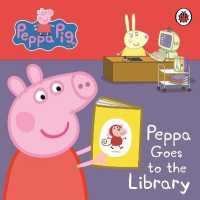 Link to an enlarged image of Peppa Pig: Peppa Goes to the Library: My First Storybook (Peppa Pig) -- Board book