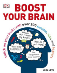 Link to an enlarged image of Boost Your Brain : Switch on your Brain with over 300 Puzzles, Tips, and Teasers -- Paperback / softback