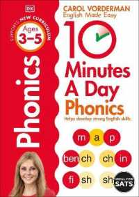 Link to an enlarged image of 10 Minutes a Day Phonics Ages 3-5 (Made Easy Workbooks) -- Paperback / softback