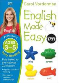 Link to an enlarged image of English Made Easy: Early Reading, Ages 3-5 (Preschool) : Supports the National Curriculum, Reading Exercise Book (Made Easy Workbooks) -- Paperback /
