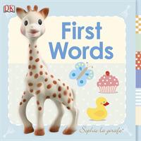 Link to an enlarged image of Sophie la girafe First Words (Sophie la Girafe) -- Board book