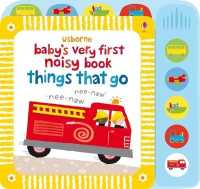 Link to an enlarged image of Baby's Very First Noisy Book Things that Go (Baby's Very First) -- Hardback