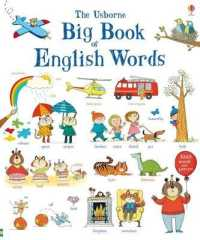 Link to an enlarged image of Big Book of English Words -- Board book