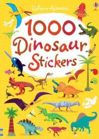 Link to an enlarged image of 1000 Dinosaur Stickers (1000 Stickers) -- Paperback / softback
