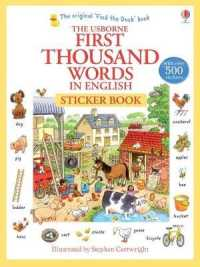 Link to an enlarged image of First 1000 Words in English Sticker Book (First Thousand Words) -- Paperback / softback