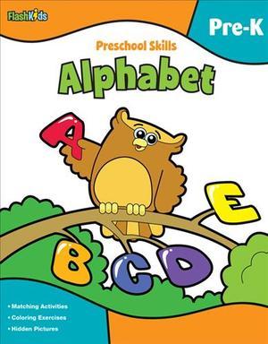 Link to an enlarged image of Preschool Skills: Alphabet (Flash Kids Pre-k)