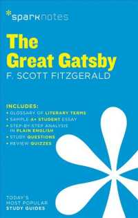 Link to an enlarged image of Sparknotes the Great Gatsby (Sparknotes) (Study Guide)