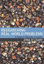 Link to an enlarged image of Researching Real-world Problems : A Guide to Methods of Inquiry