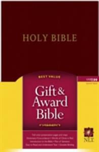 Link to an enlarged image of Holy Bible : New Living Translation, Burgundy Leather, Gift and Award Edition (Gift and Award Bible: New Living Translation-2)