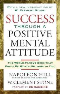 Link to an enlarged image of Success through a Positive Mental Attitude (Reprint)