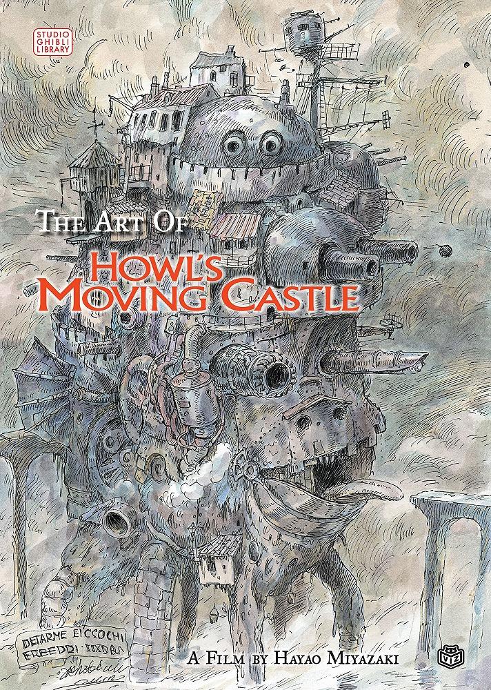 Art of Howl's Moving Castle 9781421500492