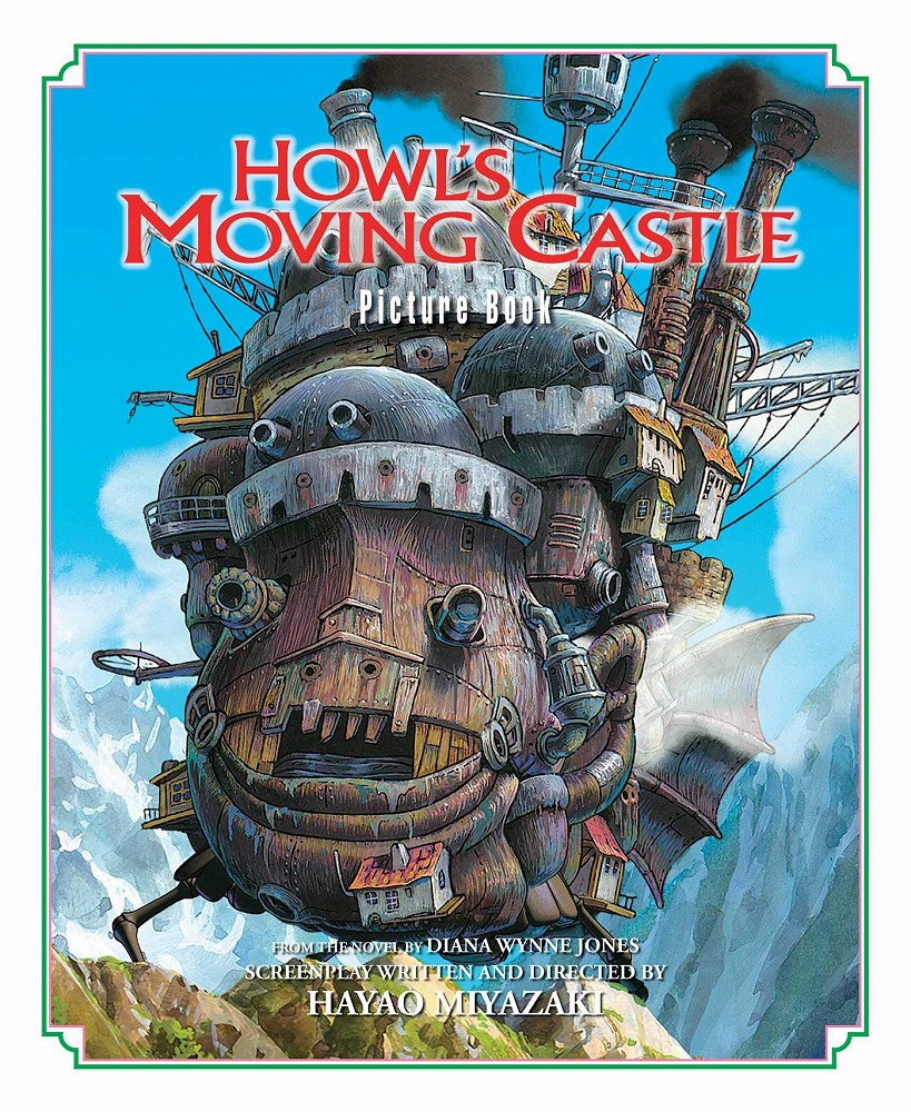 Link to an enlarged image of Howls Moving Castle Picture Book (Howl's Moving Castle Picture Book)
