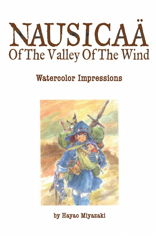 Link to an enlarged image of Nausicaa of the Valley of the Wind : Watercolor Impressions (Art of)