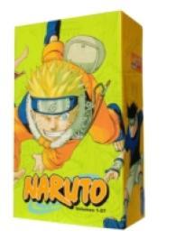 Link to an enlarged image of Naruto Box Set 1 : Volumes 1-27 with Premium (Naruto Box Sets) -- Paperback / softback <1>