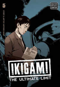 Link to an enlarged image of Ikigami 5 : The Ultimate Limit (Ikigami)