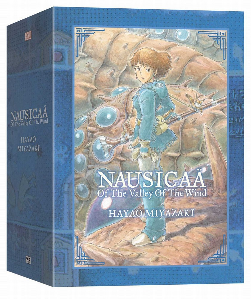 NAUSICAA OF VALLEY OF WIND BOX SET 9780061478789 FOR ABC Howl's Moving Castle 9781421550640