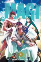 Link to an enlarged image of Magi the Labyrinth of Magic 4 (Magi : the Labyrinth of Magic)