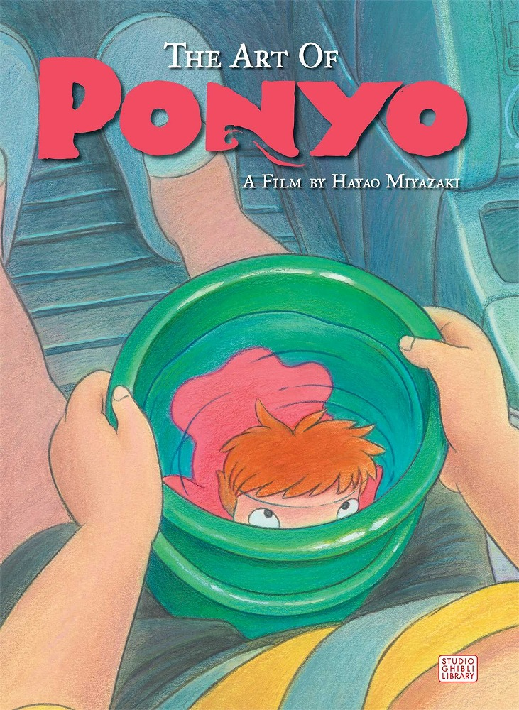 ART OF PONYO ON THE CLIFF  9781421566023