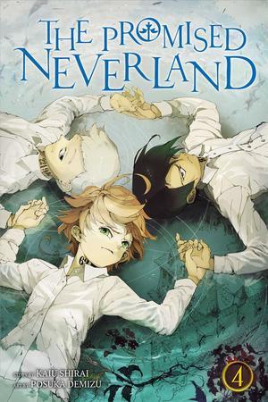 Link to an enlarged image of The Promised Neverland 4 : Shonen Jump Manga Edition (Promised Neverland) (Translation)