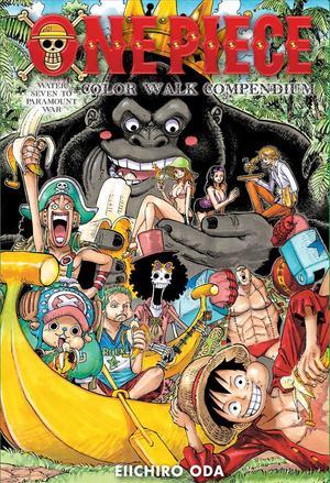 Books Kinokuniya: One Piece Color Walk Compendium : Water ...