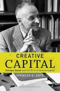 Link to an enlarged image of Creative Capital : Georges Doriot and the Birth of Venture Capital