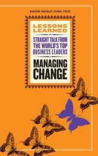 Link to an enlarged image of Managing Change (Lessons Learned)