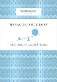 Link to an enlarged image of Managing Your Boss (Harvard Business Review Classics)