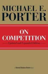 Link to an enlarged image of On Competition (Harvard Business Review Book Series) (Updated Expanded)