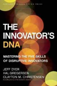 Link to an enlarged image of The Innovator's DNA : Mastering the Five Skills of Disruptive Innovators