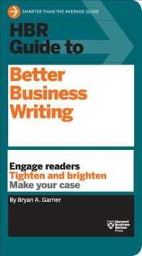 Link to an enlarged image of HBR Guide to Better Business Writing (Harvard Business Review Guides)