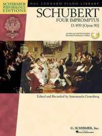 Link to an enlarged image of Schubert - Four Impromptus, Op. 90, D. 899 (Schirmer Performance Editions) (Paperback + Spoken Word Compact Disc)