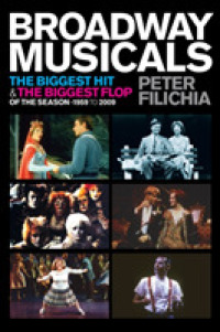 Link to an enlarged image of Broadway Musicals : The Biggest Hit and the Biggest Flop of the Season - 1959 to 2009