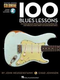 Link to an enlarged image of 100 Blues Lessons (Guitar Lesson Goldmine Series) (Paperback + Spoken Word Compact Disc)