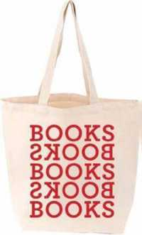 Link to an enlarged image of Books Books Tote (BAG)