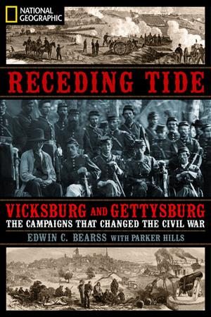 Link to an enlarged image of Receding Tide : Vicksburg and Gettysburg: the Campaigns That Changed the Civil War